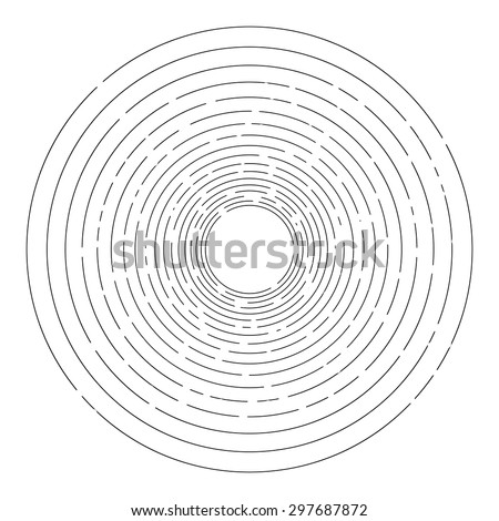 stock-vector-thin-random-dashed-concentric-circles-background