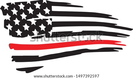 thin red line firefighter
