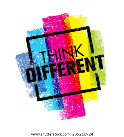 think different creative brush
