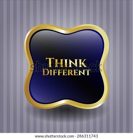 Think Different shiny emblem