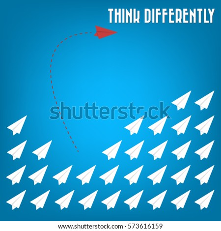 think differently   being