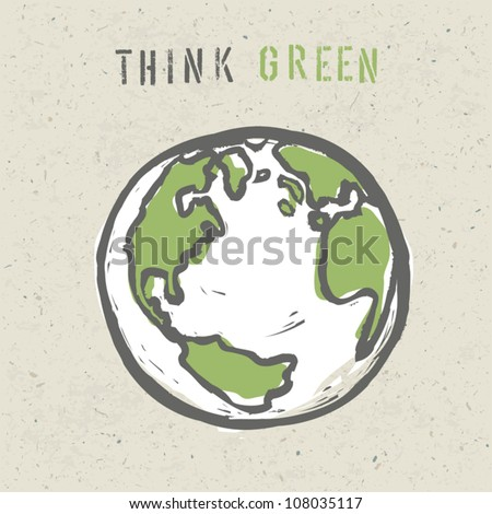 think green poster design