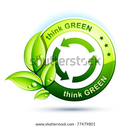 Think Green Recycling Think Green With Recycling