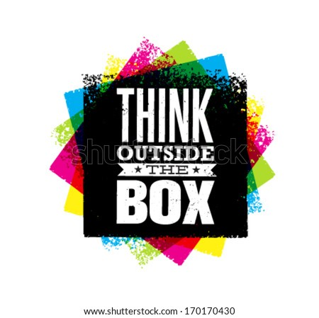 think outside the box creative