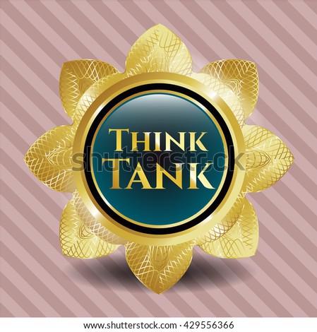 Think Tank golden emblem