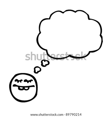 thinking emoticon face cartoon