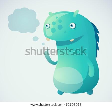Thinking Monster