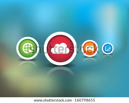 This image is a vector file representing a Technology Icons. / Technology Icons / Technology Icons