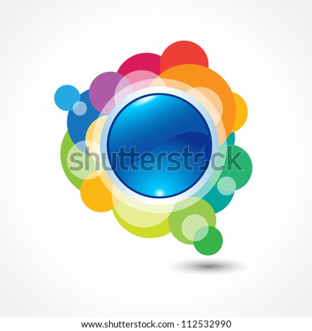 This image is a vector illustration representing a label button that can be scaled to any size without loss of resolution.