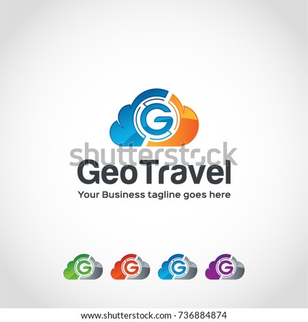 This is a G and cloud logo new design used for many projects.
