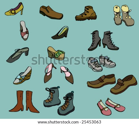 Mixed Men And Women Used Shoes For Africa In Bale , Large Size Used Shoes Wholesale