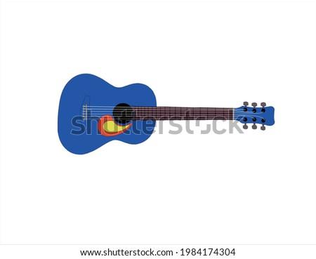 this is blue colour acoustic