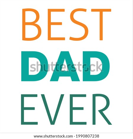 This is vector quotes for happy father's day