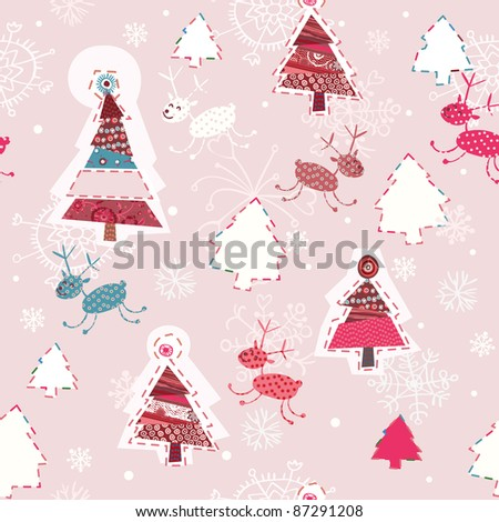 this is X-mas card for kids, magazines , web sites, textile industry