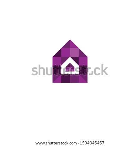 This symbol is formed from the house symbol and pixel symbol