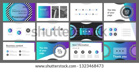 This template is the best as a business presentation, used in marketing and advertising, flyer and banner, the annual report. Elements on a dark grey background #1323468473