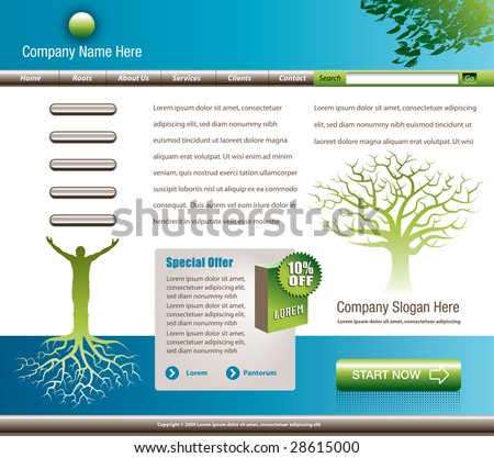 clip art tree roots. has a man with tree roots