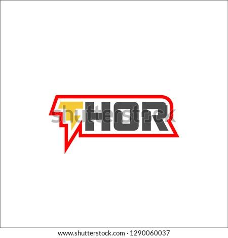 thor logo design