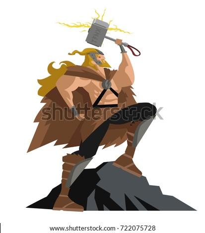 thor norse mythology god of