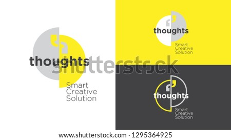 thoughts marketing logo design