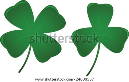 Three and Four Leaf Clovers