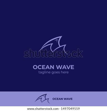 three blue ocean night tide