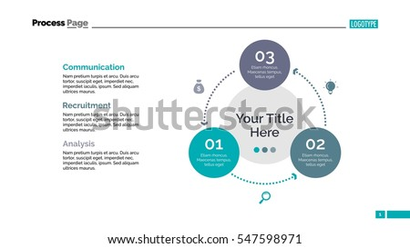 Three Circles Cycle Slide Template