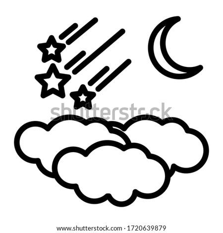 three clouds  three falling