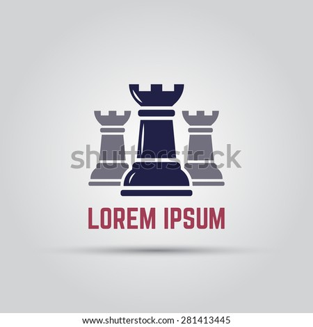 three colored chess rook