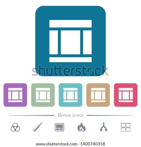 three columned web layout white
