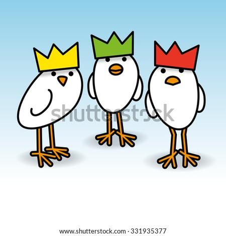 three cool white chicks wearing