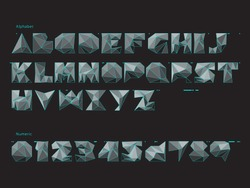 Three-dimension Font