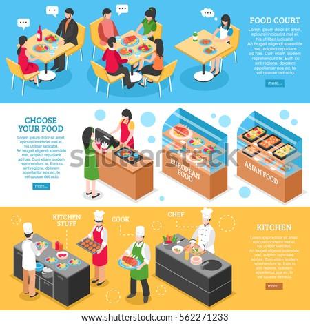 three food court horizontal