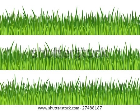 stock vector : Three grass