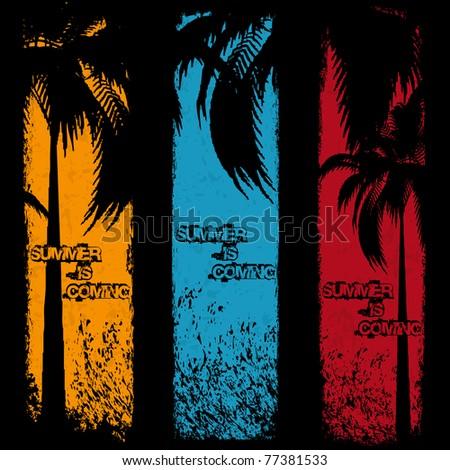 three grunge summer holiday