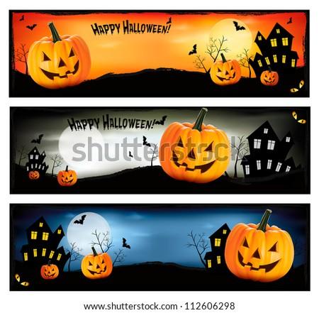 happy halloween banner download free vector art stock graphics rh vecteezy com Grunge Star Vector Halloween House Vector