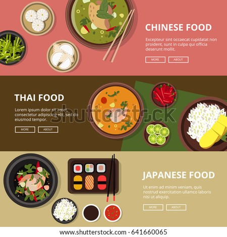 chinese food banner design - photo #10