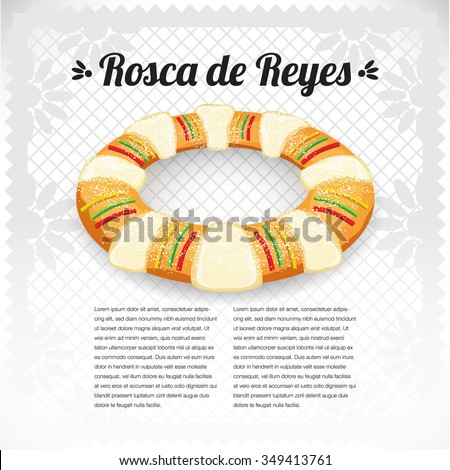 three kings cake   rosca de