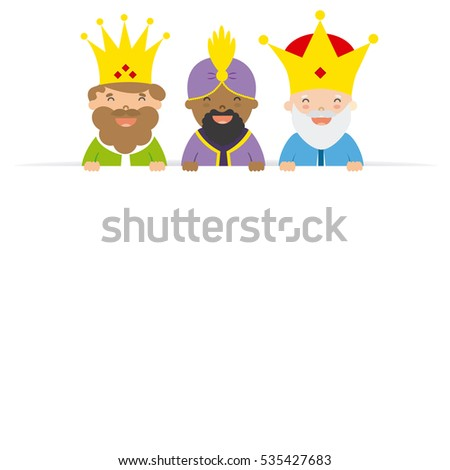 three kings of orient blank