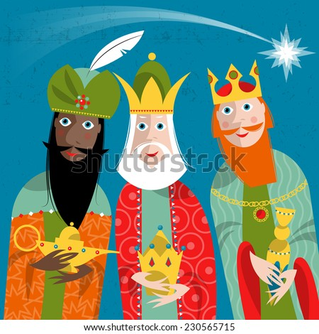 three kings three wise men