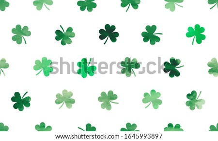 three leaf shamrock clovers