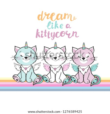 three little kitten unicorn