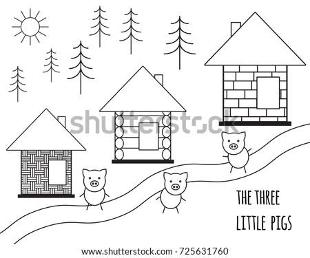 three little pigs fairy tale