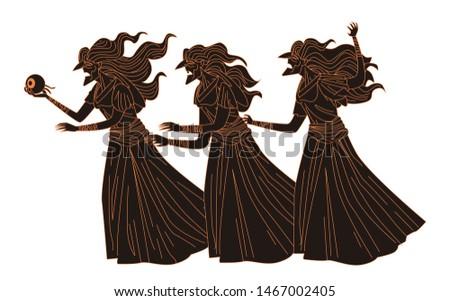 three old sisters greek