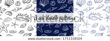 three seamless sea storm