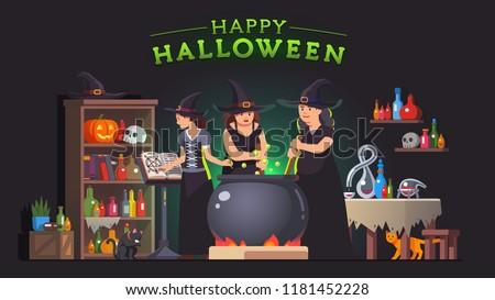 Free Witchcraft Vectors - Download Free Vectors, Clipart
