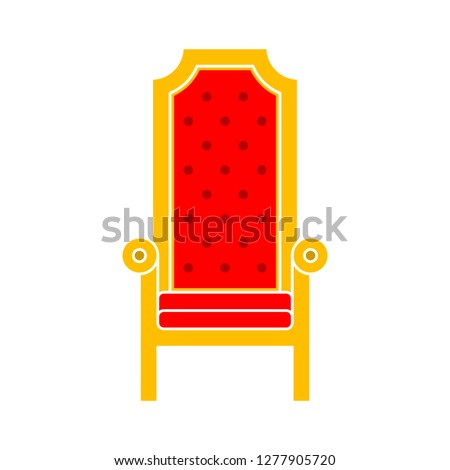 throne icon   throne isolated