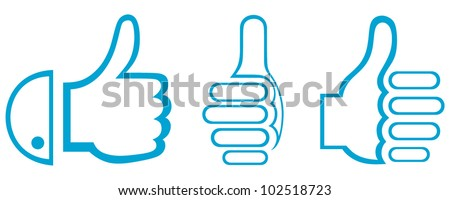 Thumb Up. Set