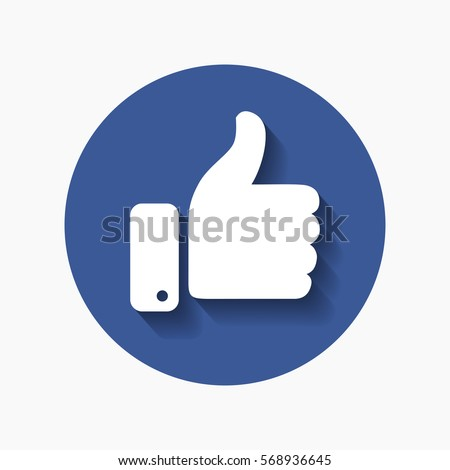 thumb up symbol  finger up icon