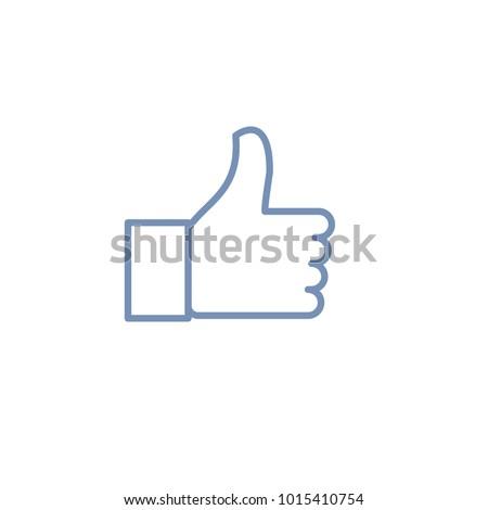 Thumbs up emoji icon